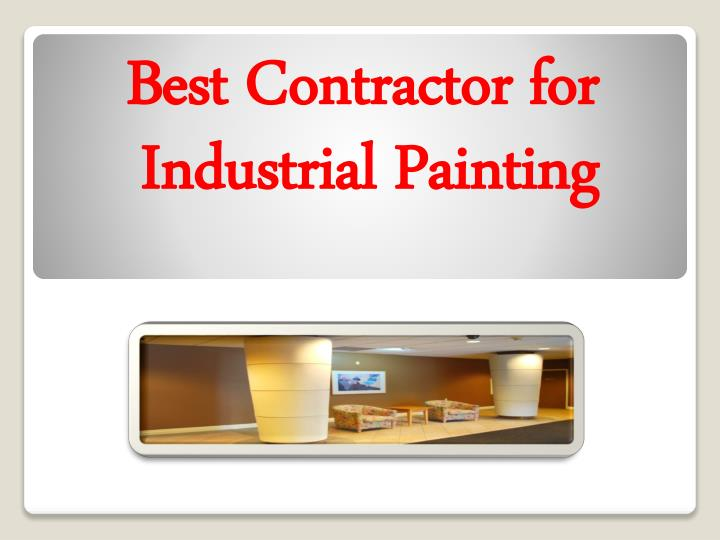 best contractor for industrial painting n.