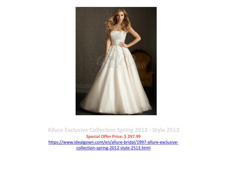 Allure Exclusive Collection Spring 2012 - Style 2513