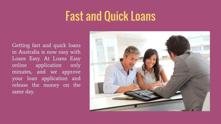 Fast and Quick Loans