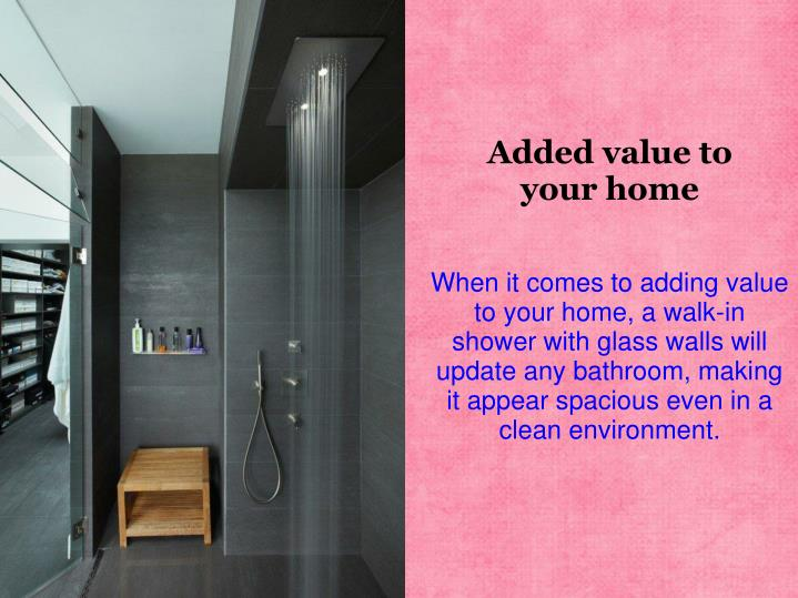 Added value to your home