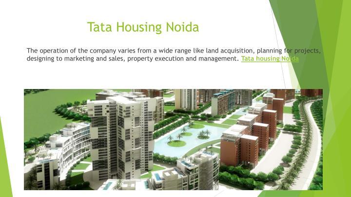 Tata housing noida