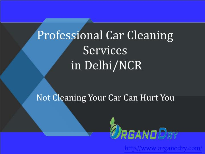 Professional c ar cleaning services in delhi ncr