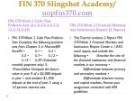 fin 370 slingshot academy uopfin370 com3