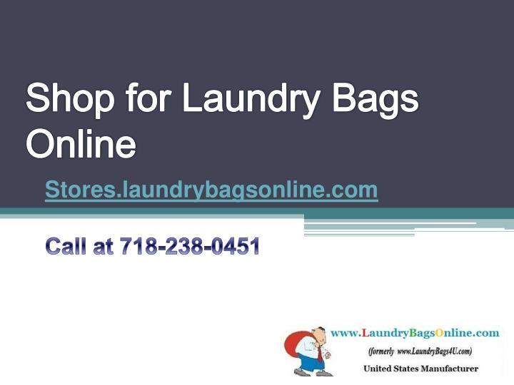 shop for laundry bags online n.