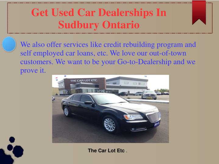 Get Used Car Dealerships In Sudbury Ontario