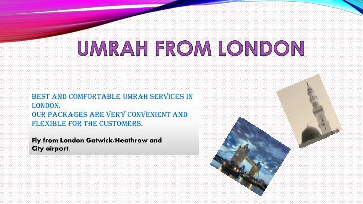 UMRAH FROM LONDON