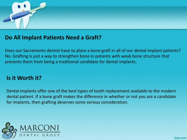 Do All Implant Patients Need a Graft?