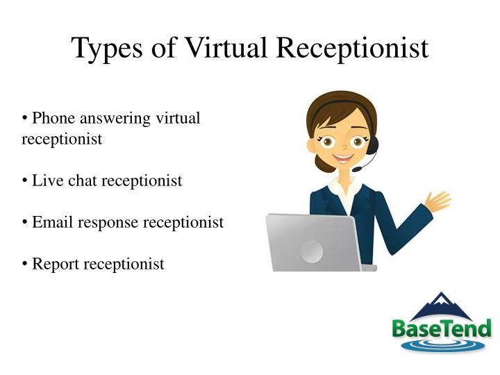 Types of virtual receptionist