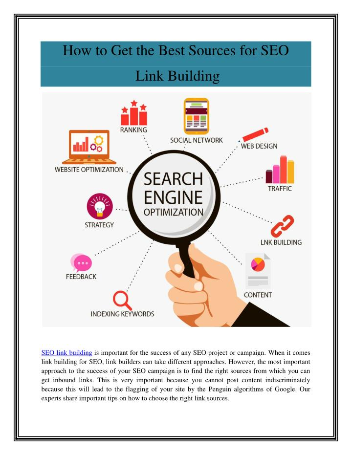 How to Get the Best Sources for SEO