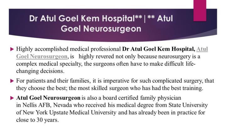 Dr atul goel lilavati hospital dr atul goel kem hospital dr atul goel mumbai