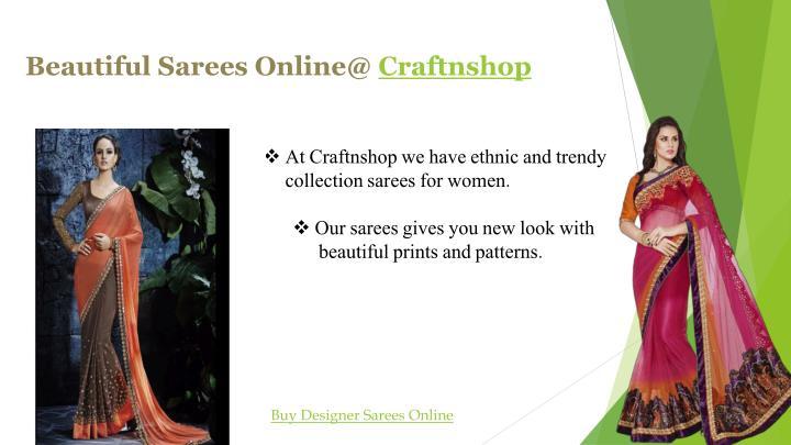 Beautiful Sarees Online@