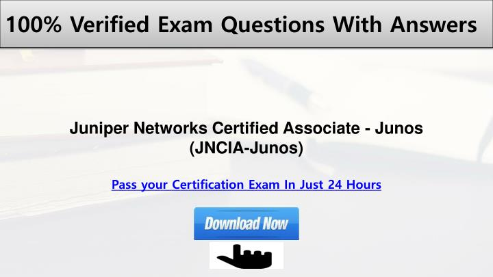 100% Verified Exam Questions With Answers