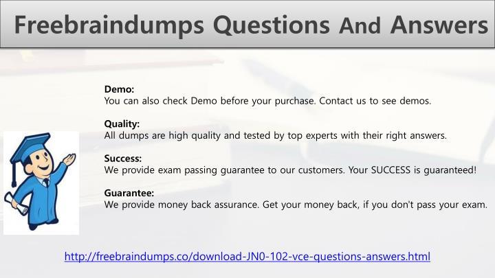 Freebraindumps Questions