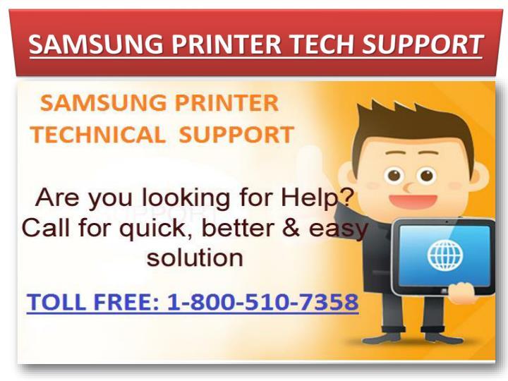 SAMSUNG PRINTER TECH SUPPORT
