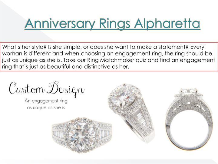 Anniversary rings alpharetta