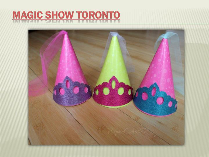 Magic show toronto