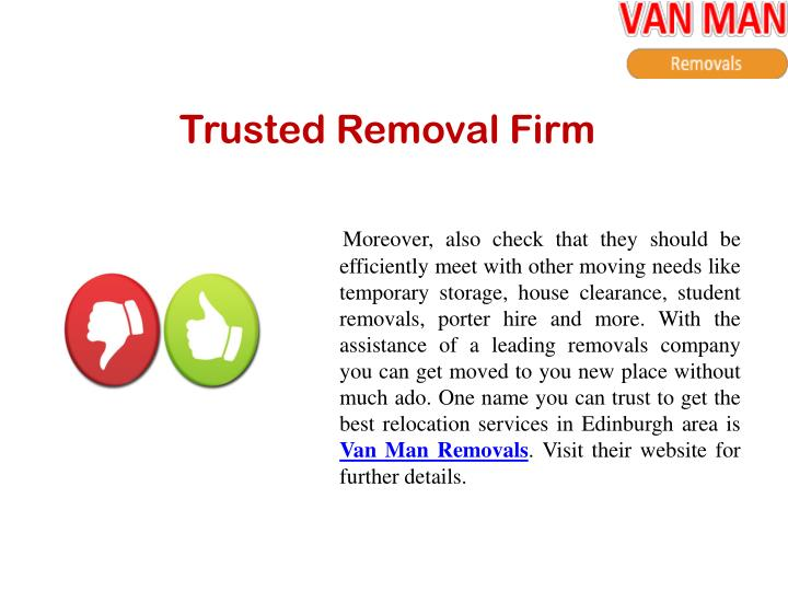 Trusted Removal