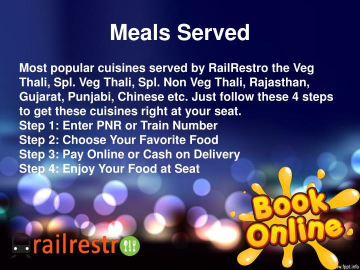 Meals Served