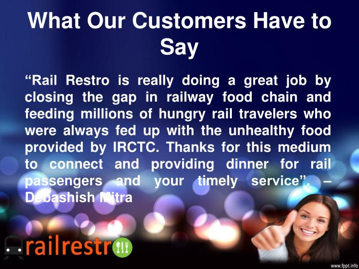 What Our Customers Have to Say
