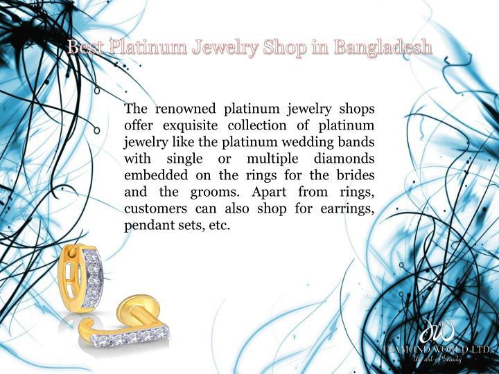 Best Platinum Jewelry Shop in Bangladesh