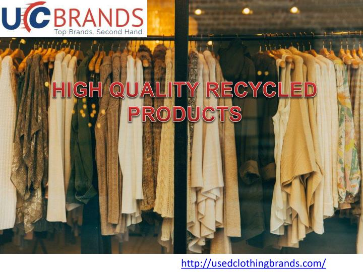 high quality recycled products n.