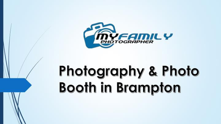 Photography photo booth in brampton