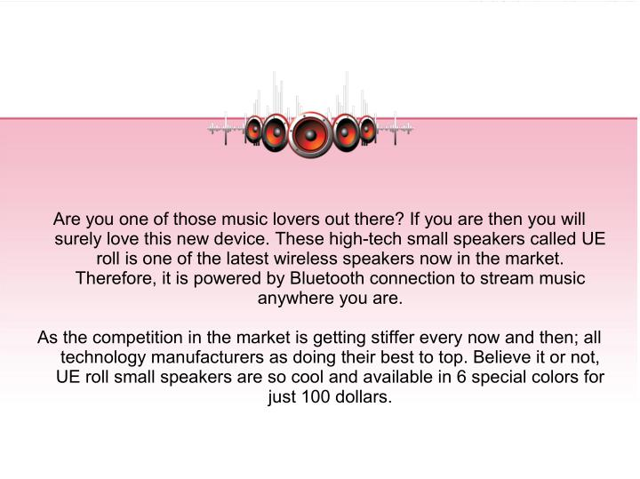 Are you one of those music lovers out there? If you are then you will