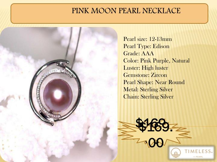 PINK MOON PEARL NECKLACE