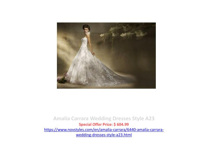 Amalia Carrara Wedding Dresses Style A23