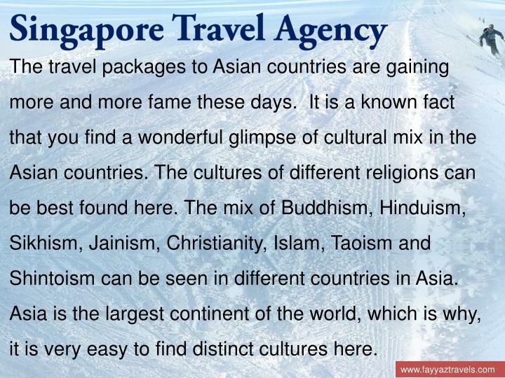 Singapore Travel Agency