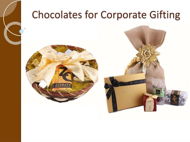 Chocolates for Corporate Gifting