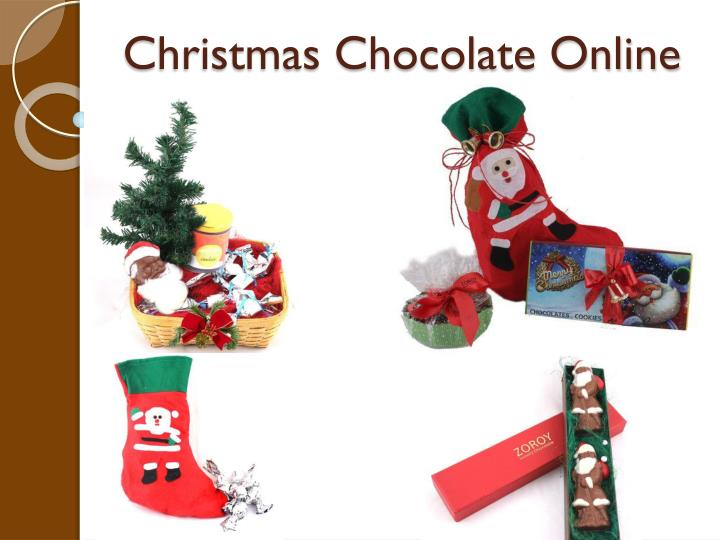 Christmas Chocolate Online