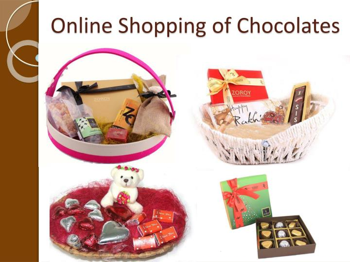 Online Shopping of Chocolates