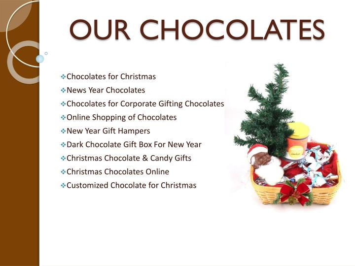 Our chocolates