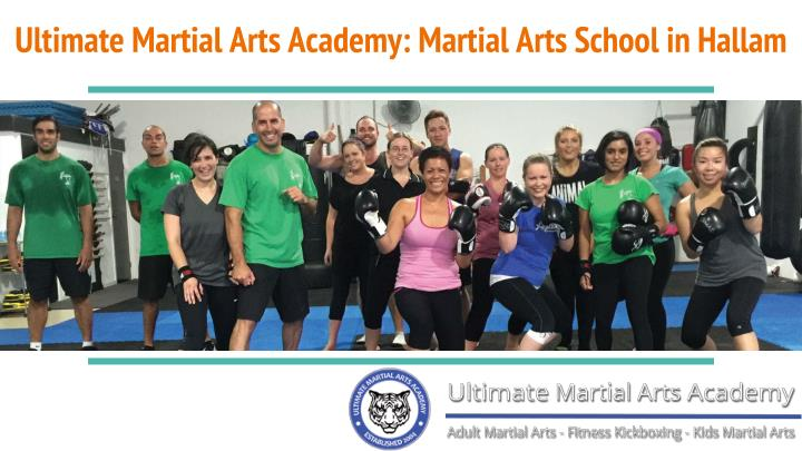 Ultimate martial arts academy martial arts school in hallam