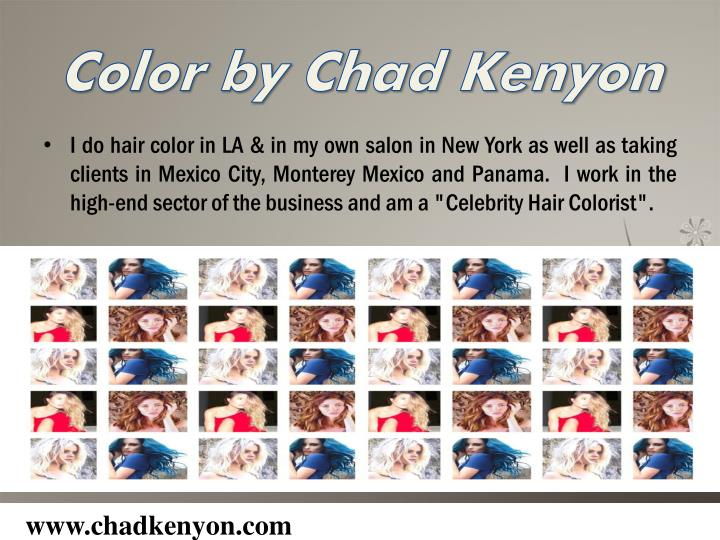 Color by Chad Kenyon