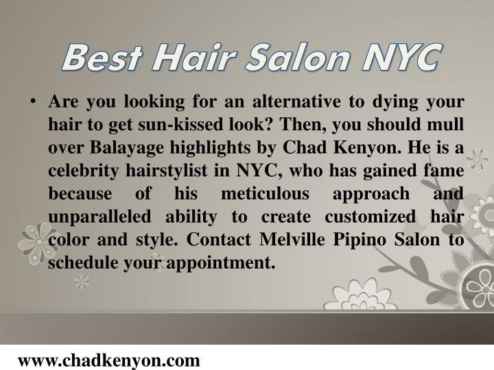 Best Hair Salon NYC