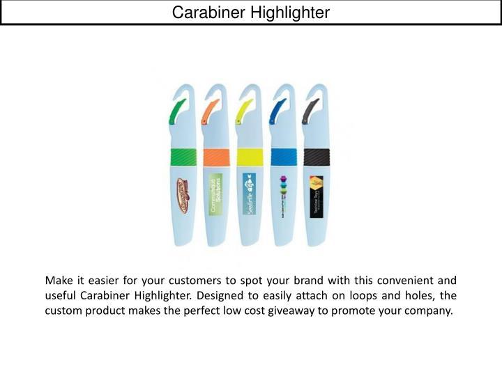 Carabiner Highlighter