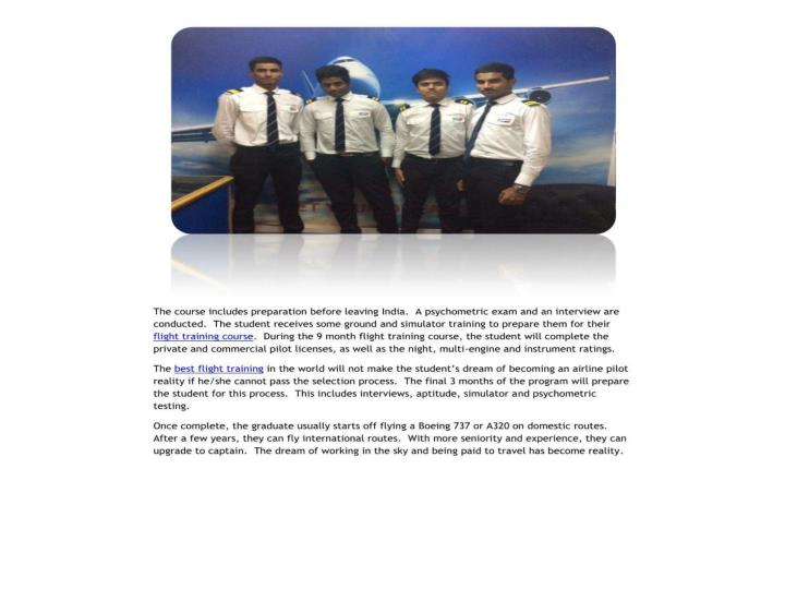 Fetch job as airline pilot is a dream come true with hm aviation