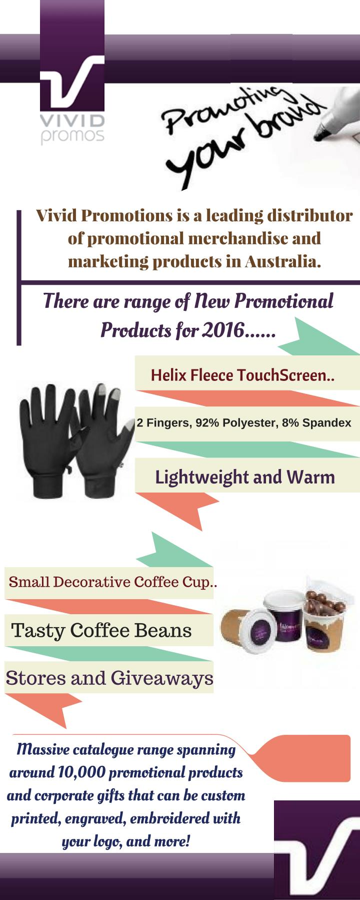Vivid Promotions is a leading distributor