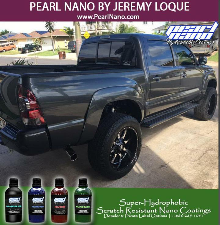 Pearl nano coating by jeremy loque