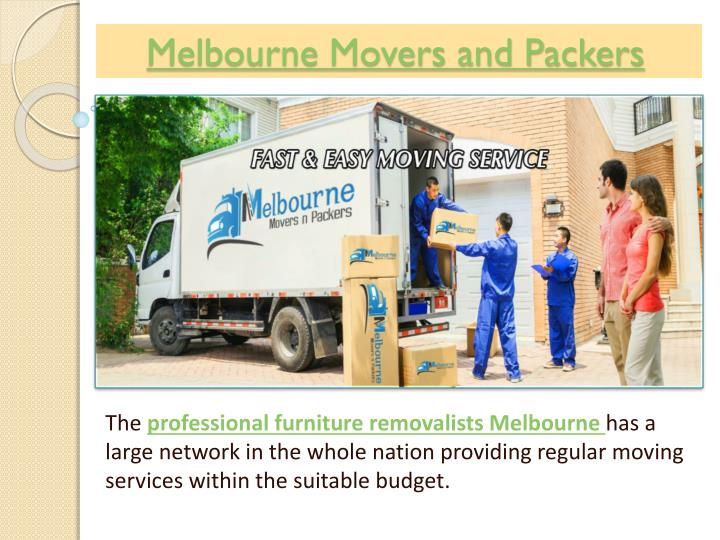 Melbourne movers and packers