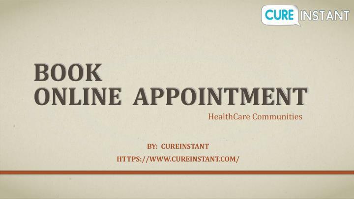 book online appointment n.