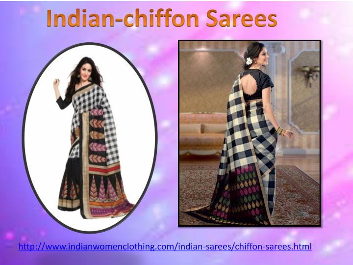 Indian-chiffon