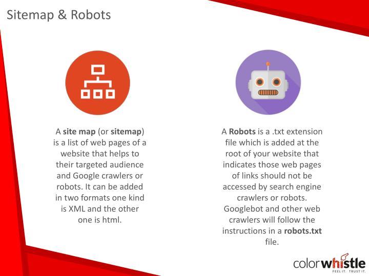 Sitemap & Robots