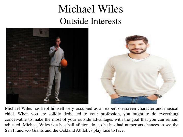 Michael Wiles
