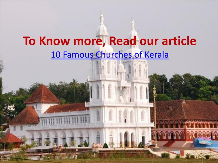 To Know more, Read our article