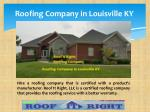 roofing company in louisville ky