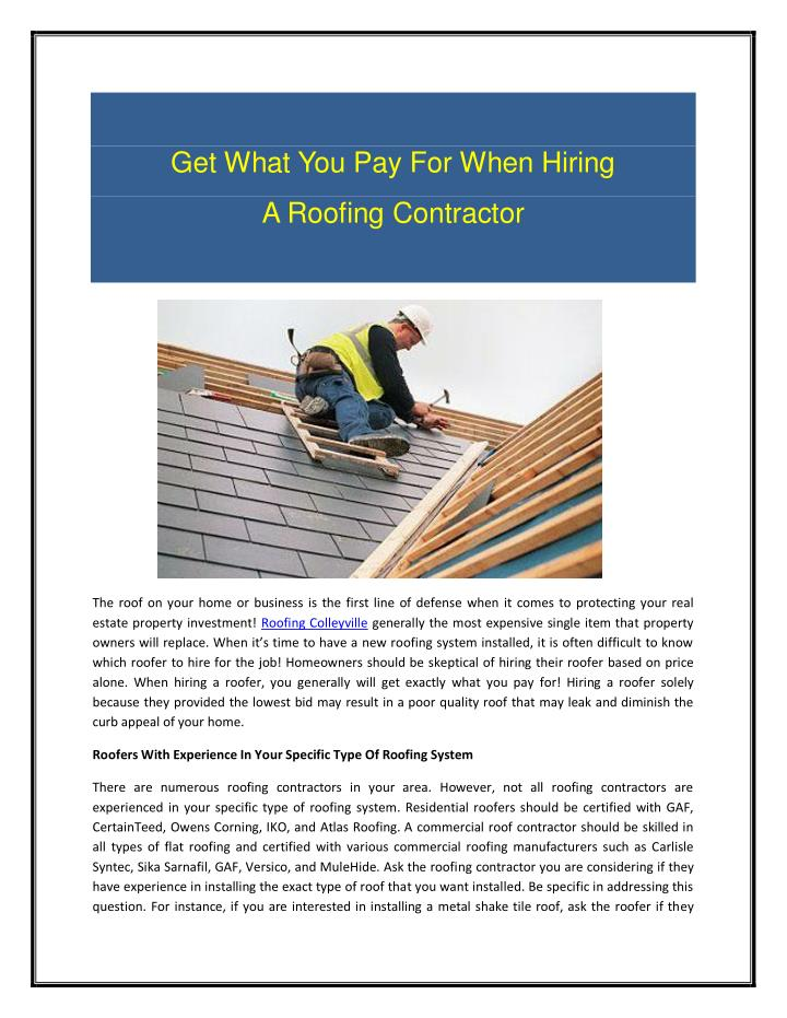Get What You Pay For When Hiring