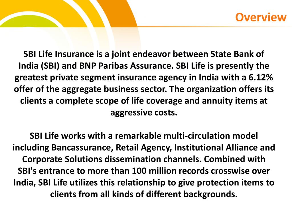 PPT - SBI Life Insurance Policies PowerPoint Presentation ...